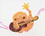 音楽家のサル