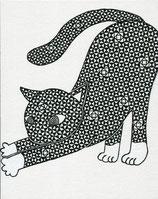 ネコのヨガ