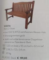 Bank 2-Sitzer Siesta