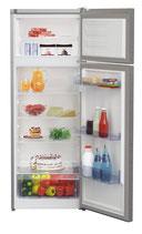 BEKO Dubbeldeurs koelkast RDSA240K30XP RVS LOOK met gratis 5 jaar garantie