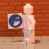 """Gebotszeichen """"Hände waschen"""""""