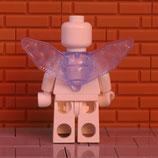 Flügel Hellblau Eckig