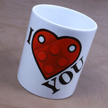 "Tasse ""I Love You"""