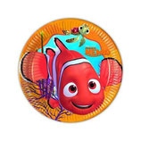 Piattini Alla ricerca di Nemo 18cm - 8 pezzi