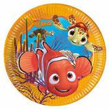 Piatti grandi Alla ricerca di Nemo 23cm- 8 pezzi
