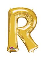Palloncino Lettera R grande - 100 cm