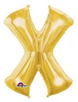 Palloncino Lettera X grande - 100 cm