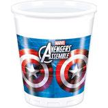 Bicchieri Avengers - 8 pezzi
