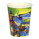 Bicchieri Tartarughe Ninja - 8 pezzi