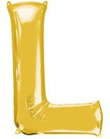 Palloncino Lettera L grande - 100 cm