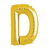 Palloncino Lettera D grande - 100 cm