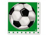 Tovaglioli Pallone da Calcio - 20 pezzi