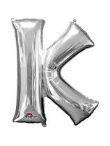 palloncino Lettera K grande - 100 cm