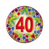 Piatti dessert 40 anni - 10 pezzi