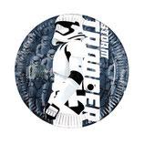 Piattini Star Wars 18cm - 8 pezzi