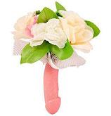 Bouquet di fiori con pene