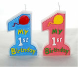 candela Il mio primo compleanno