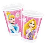 Bicchieri Principesse - 8 pezzi