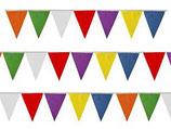 Bandierine Multicolore 10m