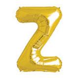 Palloncino Lettera Z grande - 100 cm