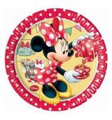 Piattini Minnie 18cm - 8 pezzi