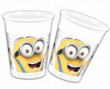Bicchieri Minions - 8 pezzi