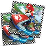 Tovaglioli Super Mario - 20 pezzi