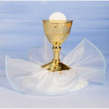 Soggetto per torta Prima Comunione celeste
