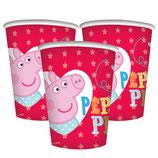 Bicchieri Peppa Pig - 8 pezzi
