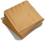 Tovaglioli di carta oro- 50 pezzi