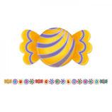 Festone Buon Compleanno Caramelle - 6 metri