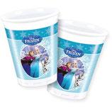 Bicchieri Frozen Ice Skating - 8 pezzi