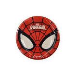 Piattini Spiderman 18cm - 8 pezzi
