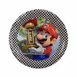 Piatti grandi Super Mario 23cm- 8 pezzi