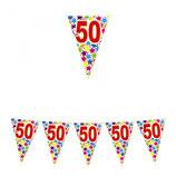 Bandierine 50 anni - 6 metri