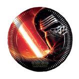 Piatti grandi Star Wars 23cm- 8 pezzi