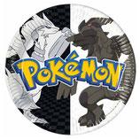 piattini Pokémon 18 cm - 10 pezzi