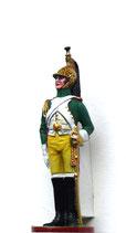 Dragoner-Offizier. Napoleon`s Kaisergarde, Frankreich 1809 - 1815