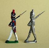 Grenadier, Grenadiere zu Fuß. Garde Impériale, Frankreich 1805 - 1815