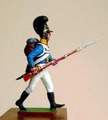 Grenadier vorgehend,  Königreich  Bayern 1809 - 1815