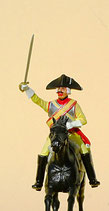 Kürassier, Aufsitzer (ohne Pferd) , Preußen um 1756