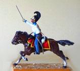 Kürassier im Attake  / Brandenburgisches Regiment Nr. 6 / Preußen 1809 - 1815