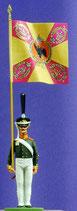 Unterfähnrich /Fahnenjunker,  Zarengarde.  Russland 1812 - 1815