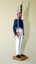 Offizier der 1. Garderegiment zu Fuß, Preußen 1824