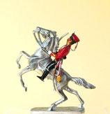 Garde-Husar / Preußen um 1900 / Aufsitzer (ohne Pferd)