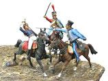 """Vignette """"Prinz Louis Ferdinand von Preußen bei Saalfeld, 10. Oktober 1806"""""""