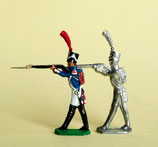 Füsilier - Grenadier. Kaisergarde / Junge Garde,  Frankreich, 1805 – 1815