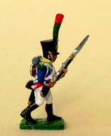 28mm Figur. Gießform. Voltigeur, Frankreich, 1812 - 1815