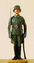 Offizier mit Säbel / Parade / Deutschland um 1924 - IR 9 / Potsdam.