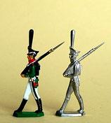 Grenadier, marschierend. Russland, 1812 - 1815